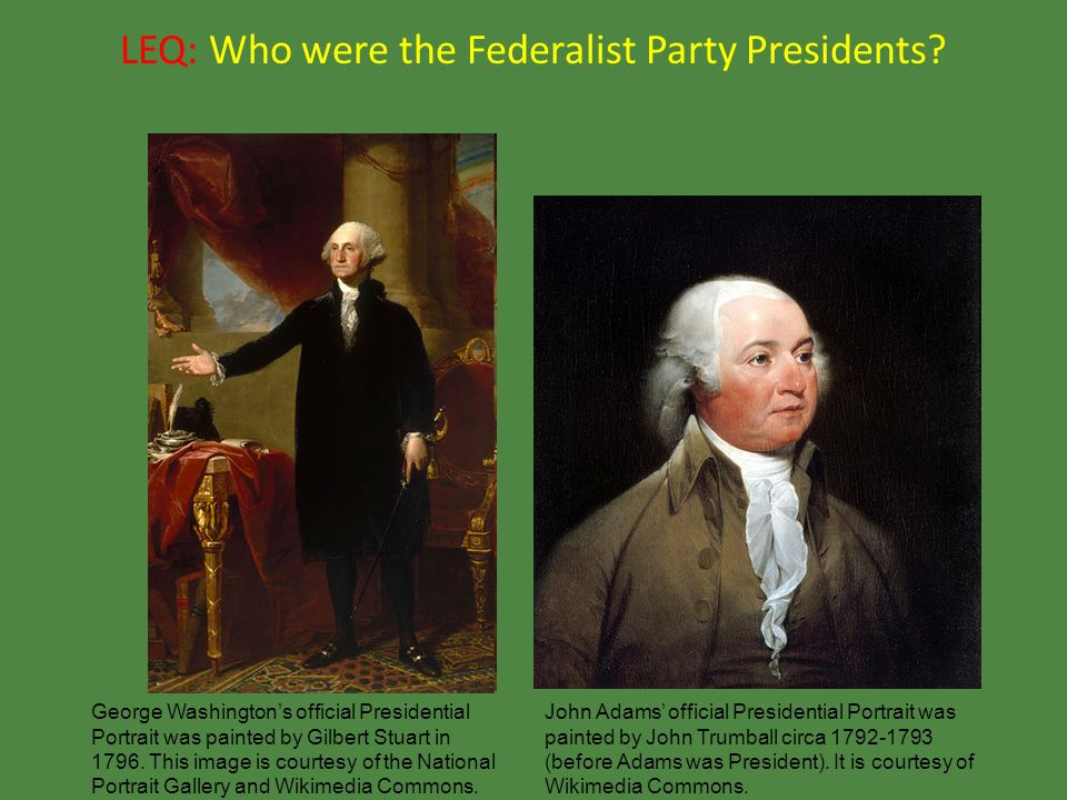 presidents george washington and john adams essay George washington named the land the district of columbia, in honor of  john  adams, the second president of the united states, moved into a cold, damp.