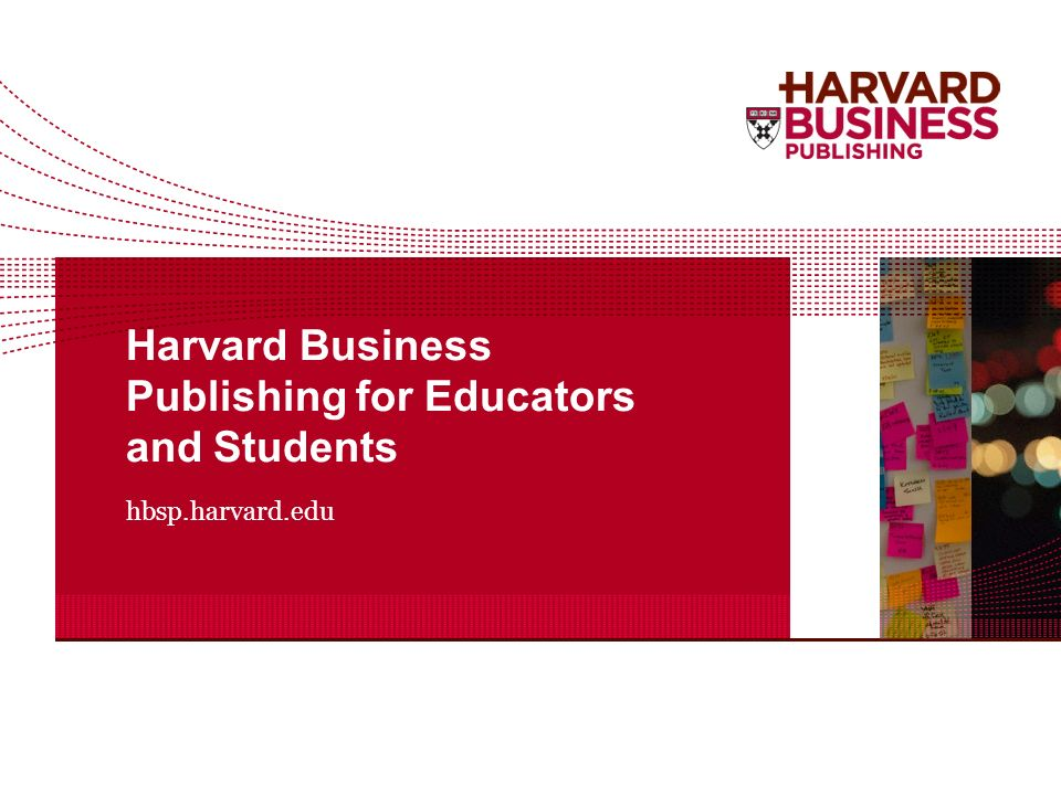 hbs case studies for educators Case studies what are case (1981) teaching by the case method boston: harvard business school davis, b g (1993) tools for teaching technology for education.