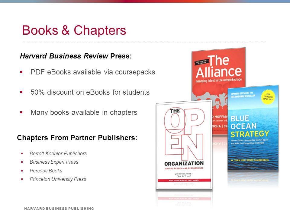 harvard business school publishing blue ocean strategy