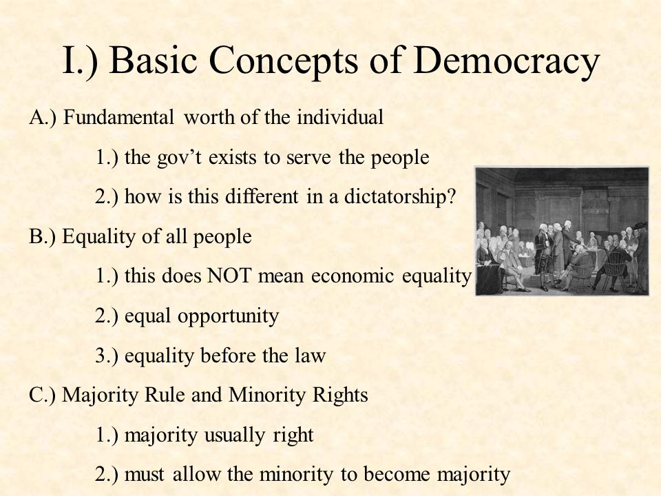 the concept of democracy essay This free politics essay on approaches to democratic transition: the concept of wave is perfect for politics students to use as an example.