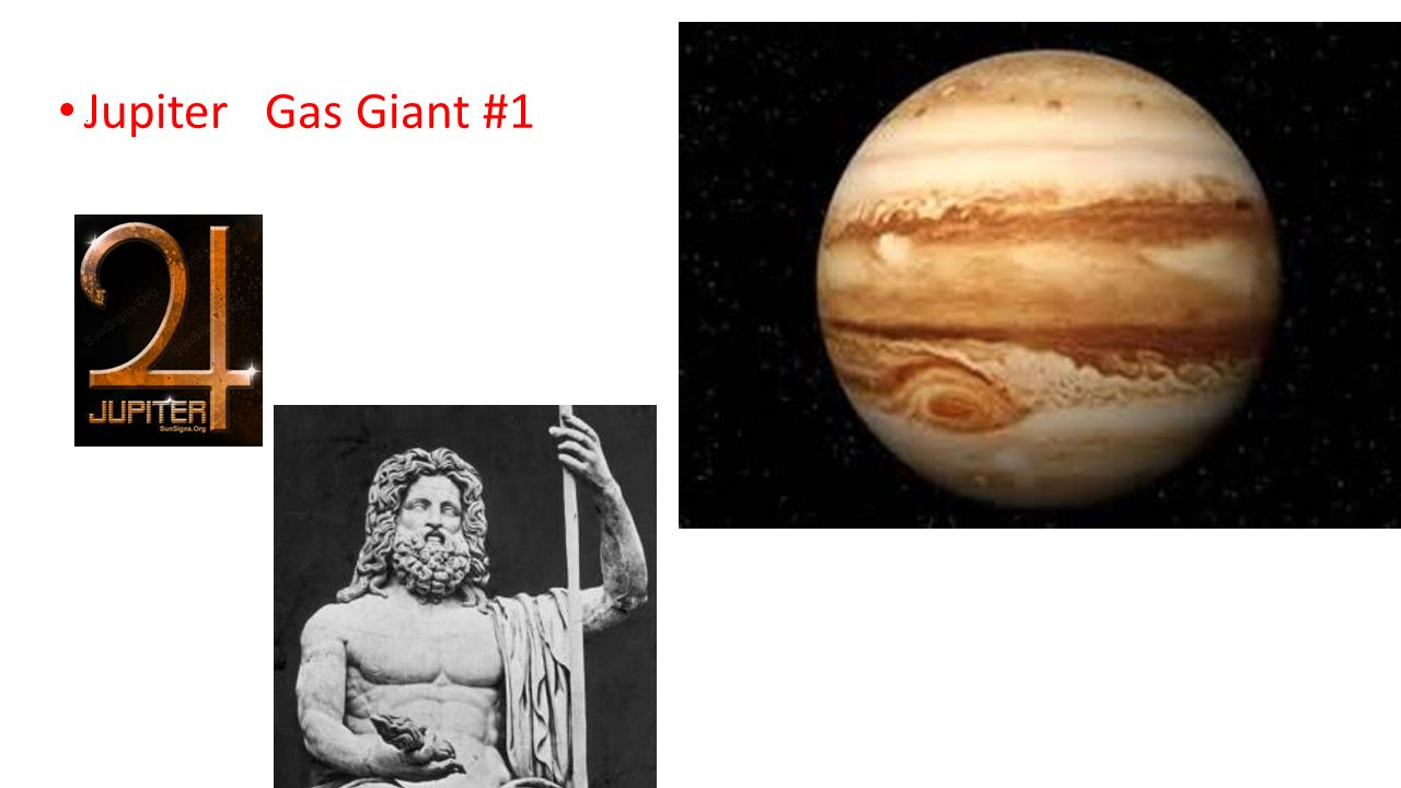 great gas giant jupiter The outer planets of the solar system - jupiter, saturn, uranus and neptune - are gas giants, a designation which applies to planets that are primary composed of hydrogen and helium.