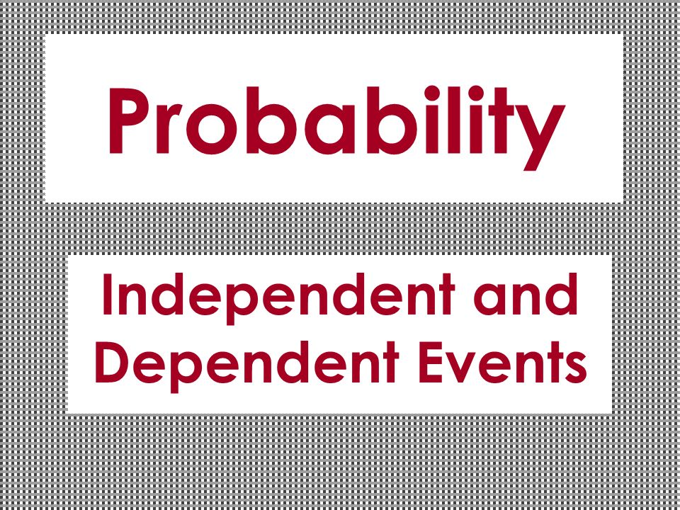 how to find the probability of two dependent events occurring