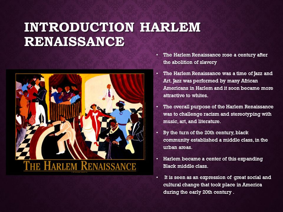 harlem and italian renaissance compare Free coursework on a comparison of the medieval and renaissance eras a comparison of the medieval and renaissance such as the home of the prevailing italian.