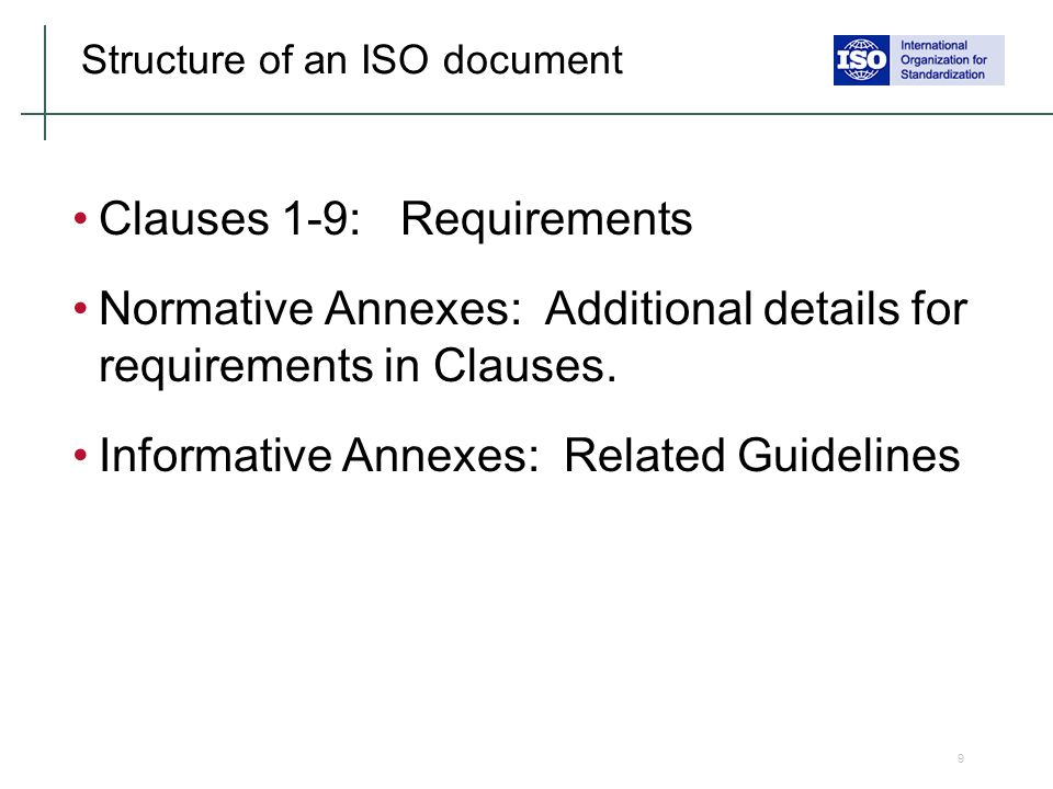List of mandatory documents required by ISO 9001:2015