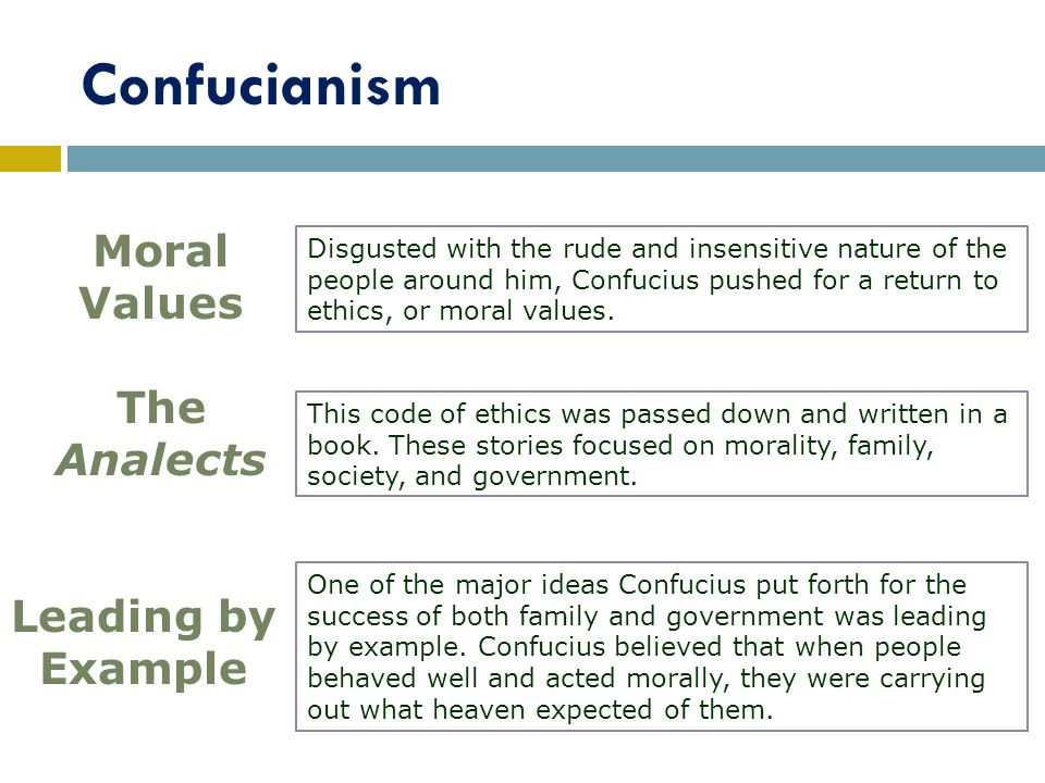 the zhou dynasty new ideas ppt video online  confucianism moral values the analects leading by example