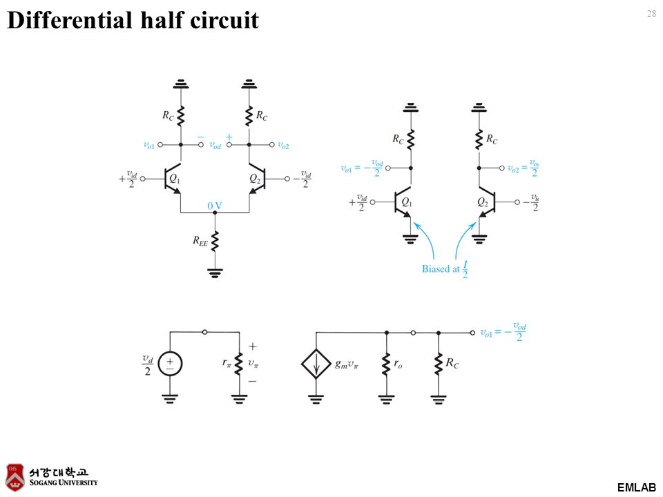 chapter 7  differential and multistage amplifiers