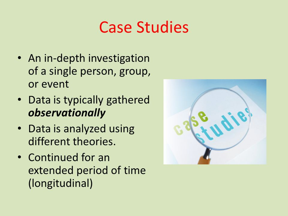 case study investigation 1 module 6 – case study exercise gastroenteritis at a college note: this case study is based on a real-life outbreak investigation undertaken in texas in 1998.
