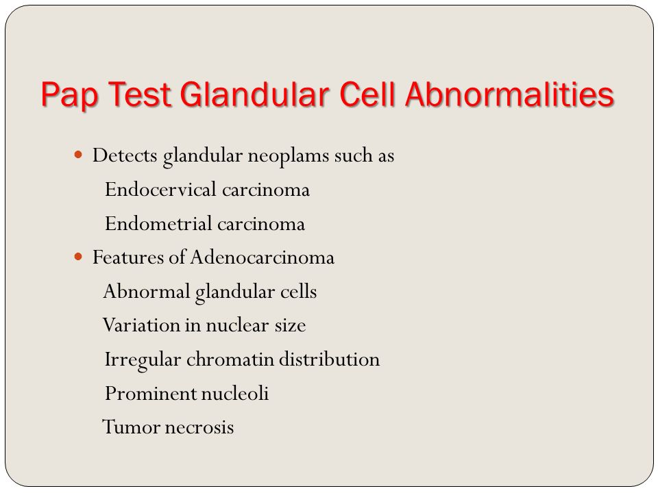 Your atypical glandular cell breast cancer thought