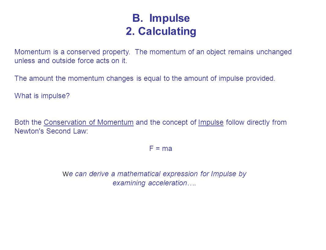 Momentum ppt download momentum is a conserved property the momentum of biocorpaavc Images