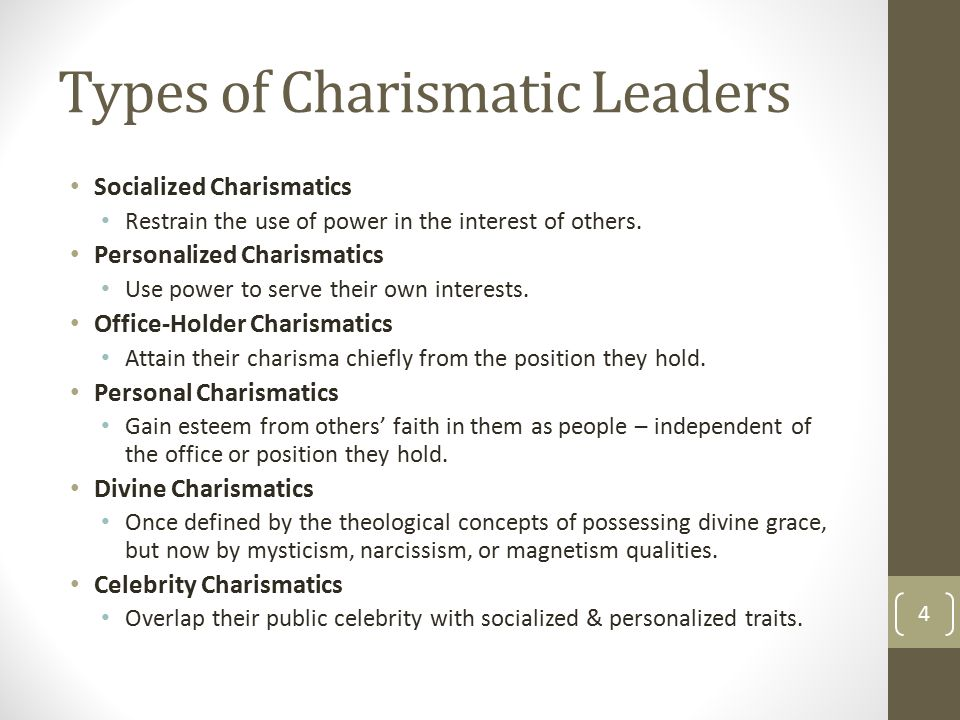 leadership charismatic individuals or contingent Charismatic individuals or contingent characteristics introduction:-the world is a place of infinite combinations of different life situations.