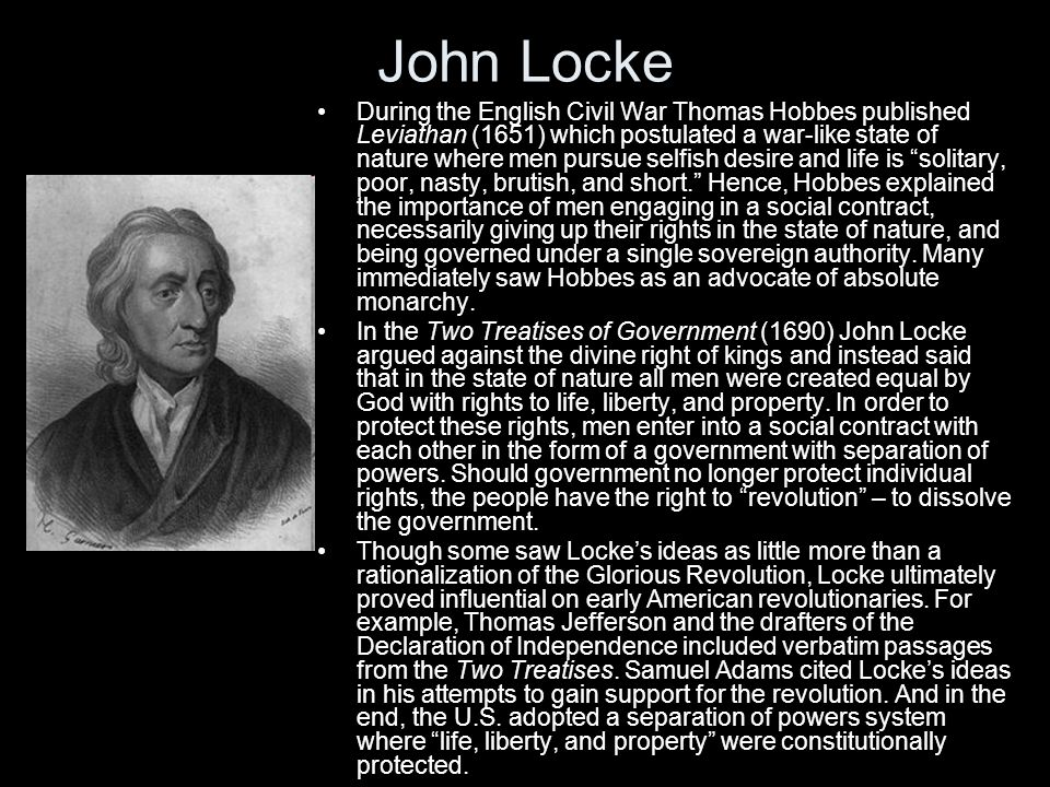 argumentative essay john locke Critically evaluate locke's argument against innate ideas in this essay i will evaluate john locke's argument against innate ideas i will come to find, that lockes argument, not only commits the fallacy of denying the antecedent, but also makes use of straw manning and an inference to the best explanation, both of which are not very.