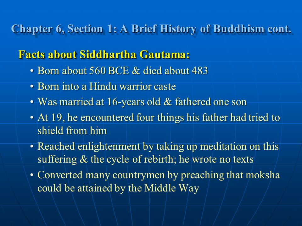 a brief history of buddhism From the origin to the diffusion, a brief history of buddhism.