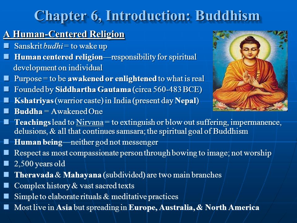 an introduction to the origins and the history of one of the biggest religions in india buddhism Long ago, buddhism began to spread southwards from its place of origin in   because buddhism had all but died out in india after the muslim incursions of the   study and work, with very short hours of sleep and only one main meal a day   courses start with the popular introduction to basic buddhism and interested.