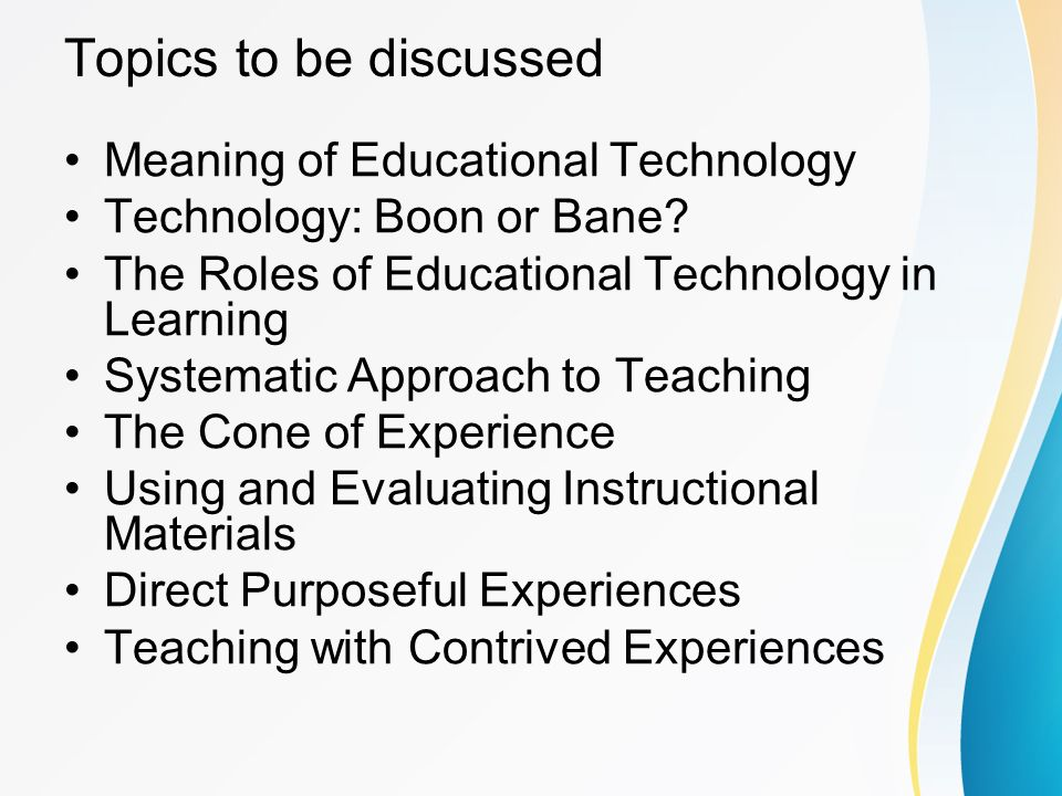 educational technology and instructional technology