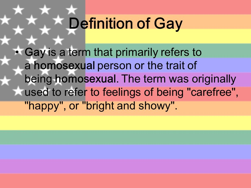 gay homosexual word origin