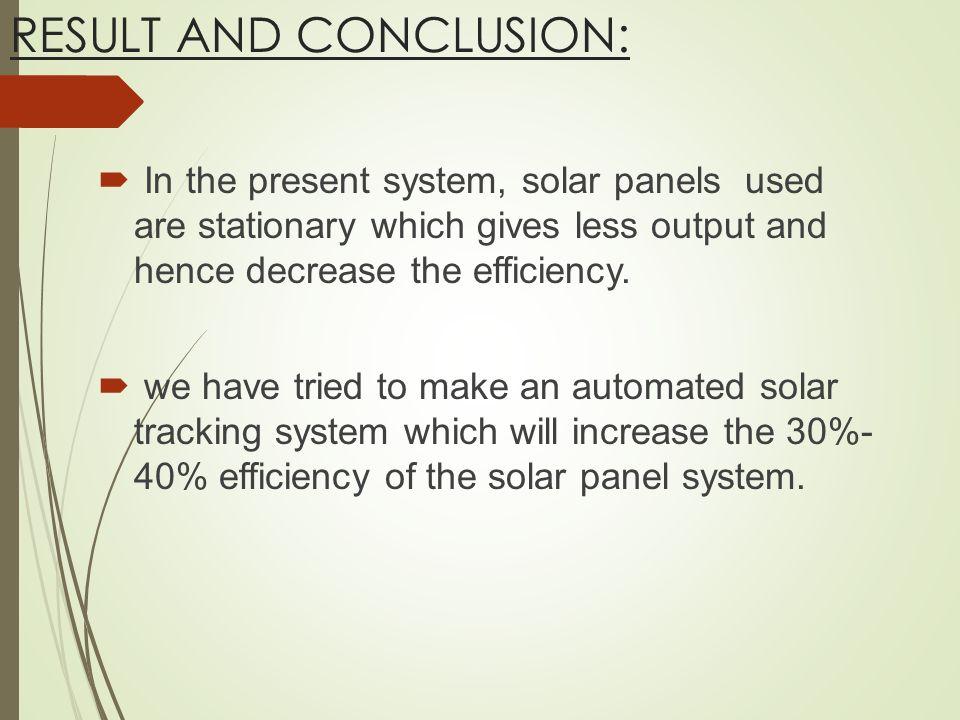 Solar Tracker System Ppt Video Online Download