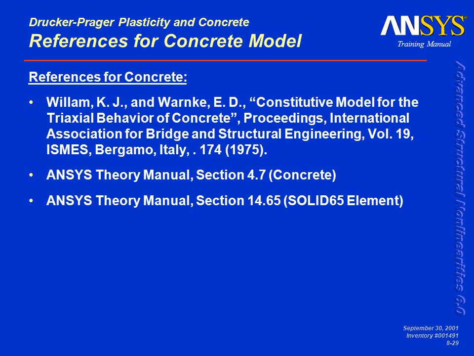 Ansys Theoretical Manual
