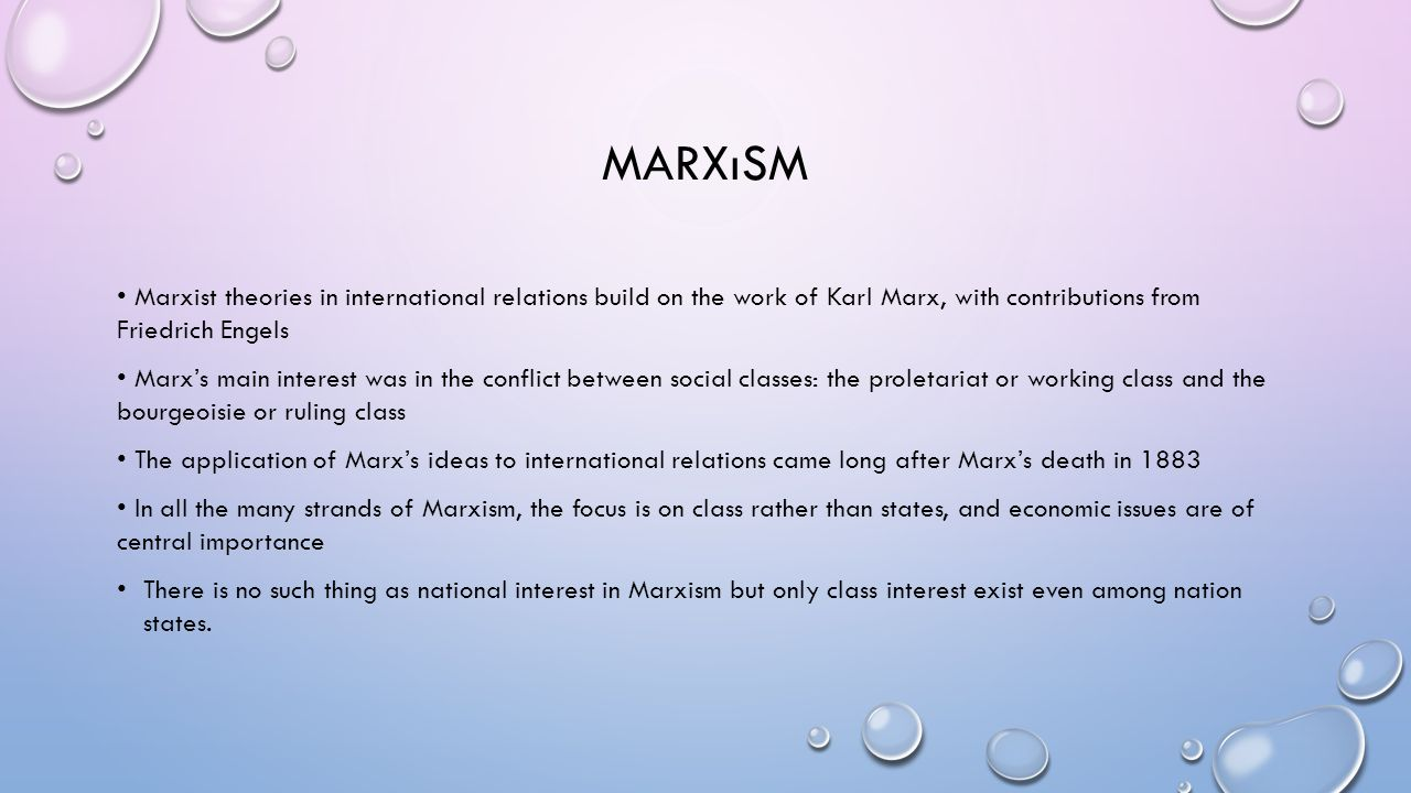 friedrich engels conflict theory In most of the narratives of classical social theory, marx alone is usually cited as  one of  the first -- and only -- issue contained an article by friedrich engels in   produces an inherently unstable economic system full of conflicts and crises.