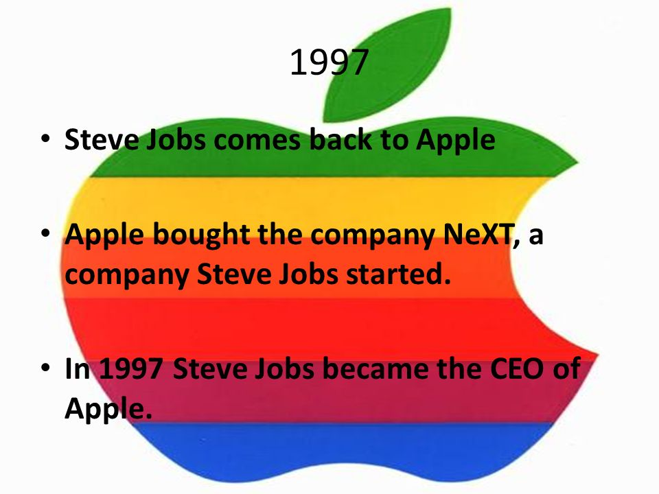 History of Apple First computers Steve Jobs