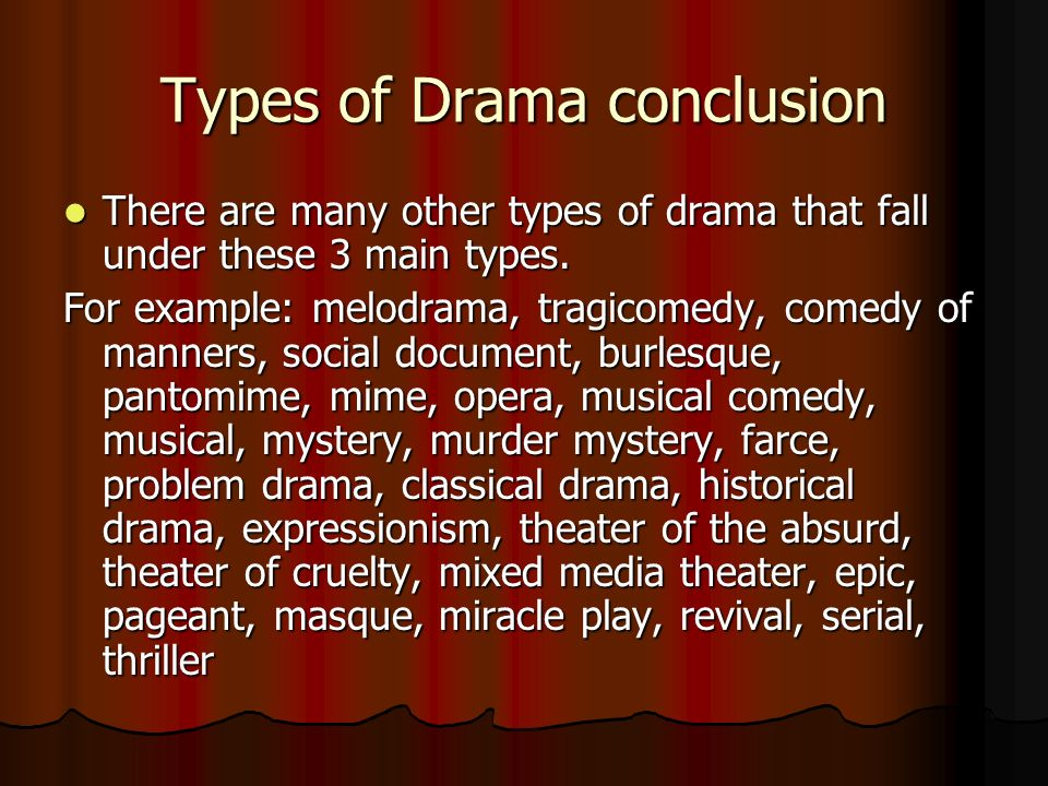 What is drama types of drama elements of drama ppt for Farcical comedy plays