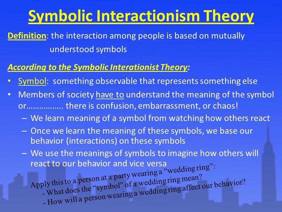 symbolic interactionist definition