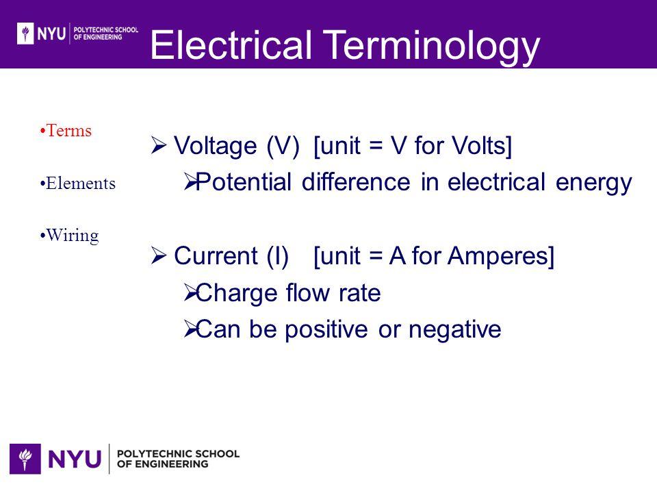 Electrical Wiring Terms - Merzie.net