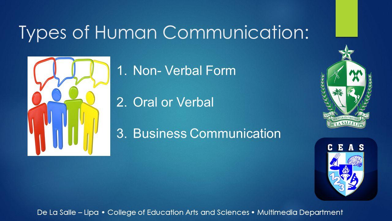 types of oral communication pdf