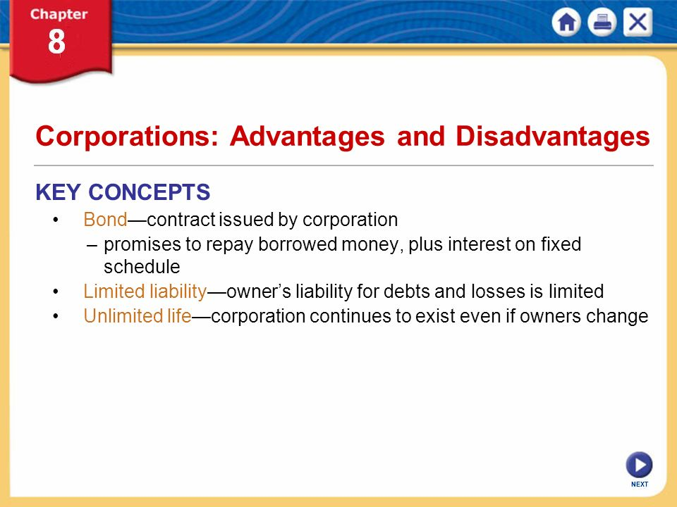 disadvantages of corporations Advantages or merits of public corporation the following are some of the advantages or merits of public corporation 1 autonomy: public corporation is an autonomous set up.