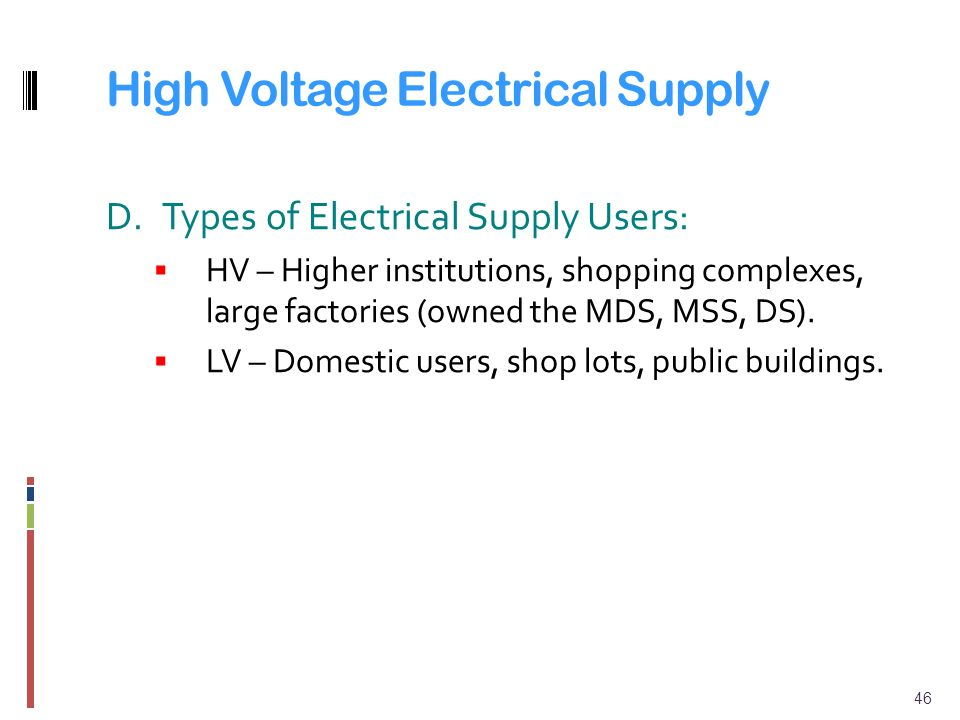 Chapter 1 Distribution Systems And Tariffs Ppt Video