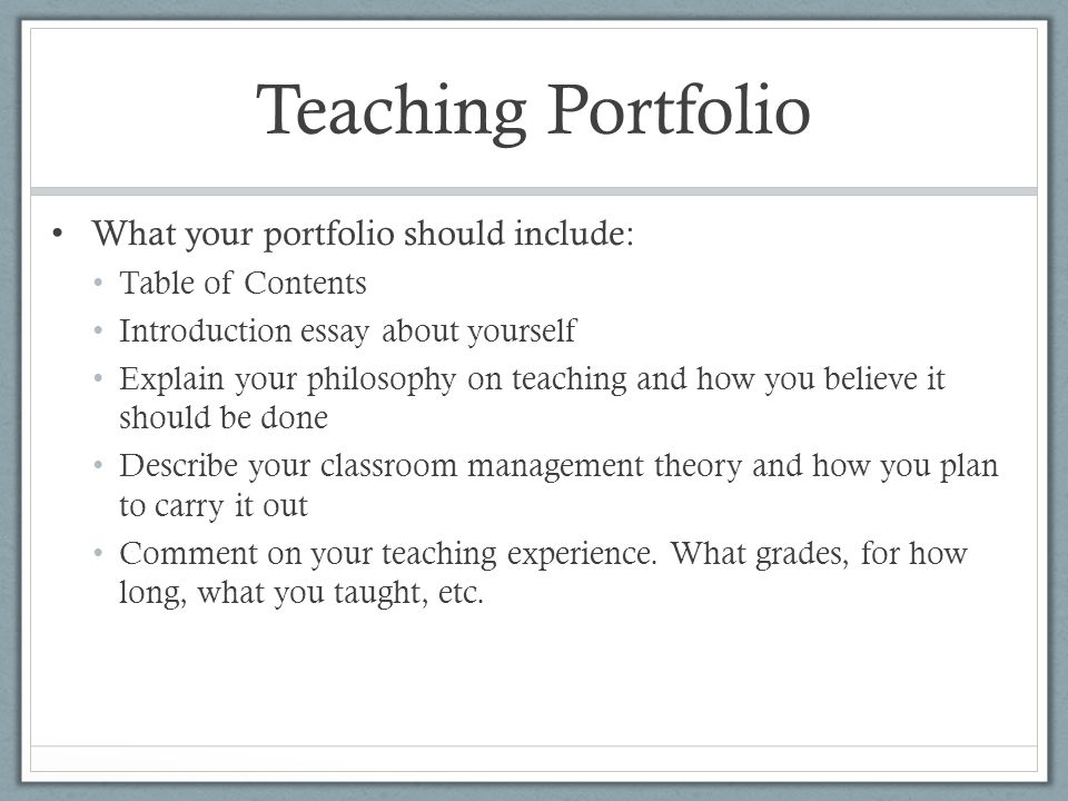 making the decision to become a teacher ppt  11 teaching portfolio