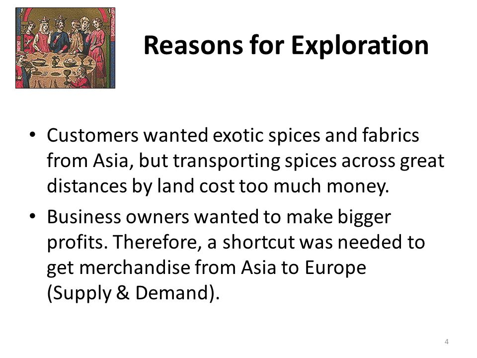 reasons for colonization