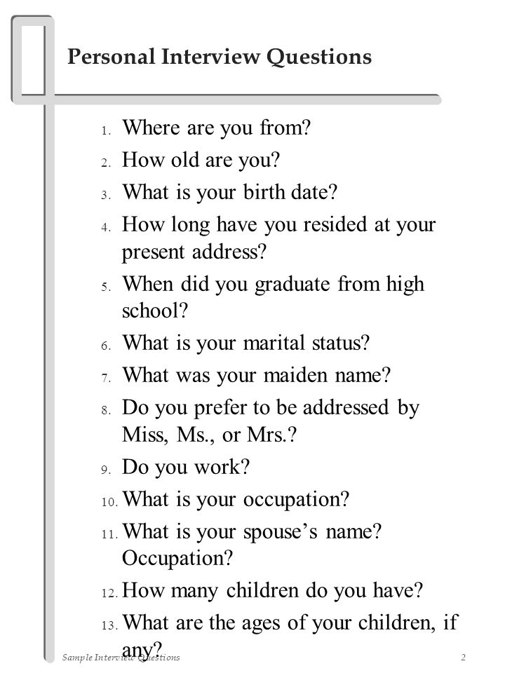 Dating sites question about occupation