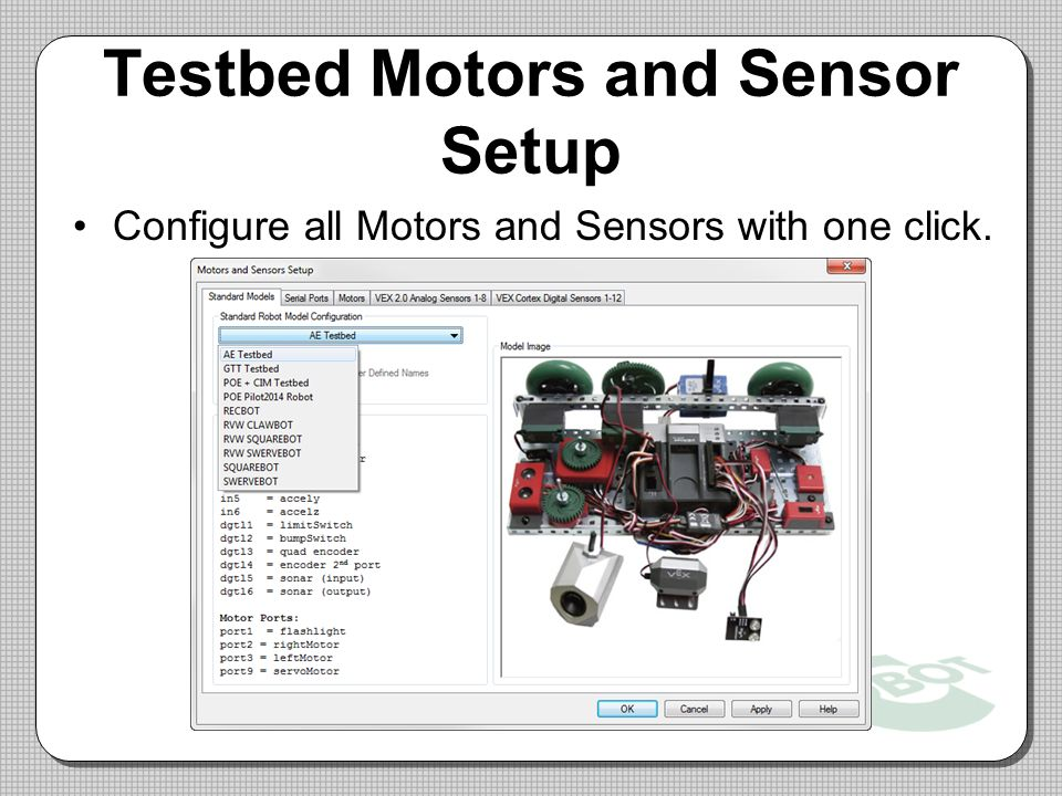 Testbed+Motors+and+Sensor+Setup pltw cortex test bed wiring diagram prefrontal cortex brain  at gsmx.co