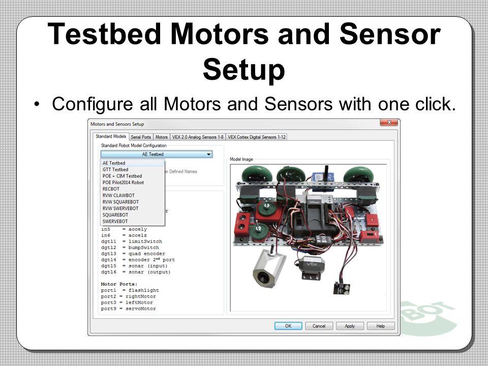 Testbed+Motors+and+Sensor+Setup pltw cortex test bed wiring diagram prefrontal cortex brain  at virtualis.co