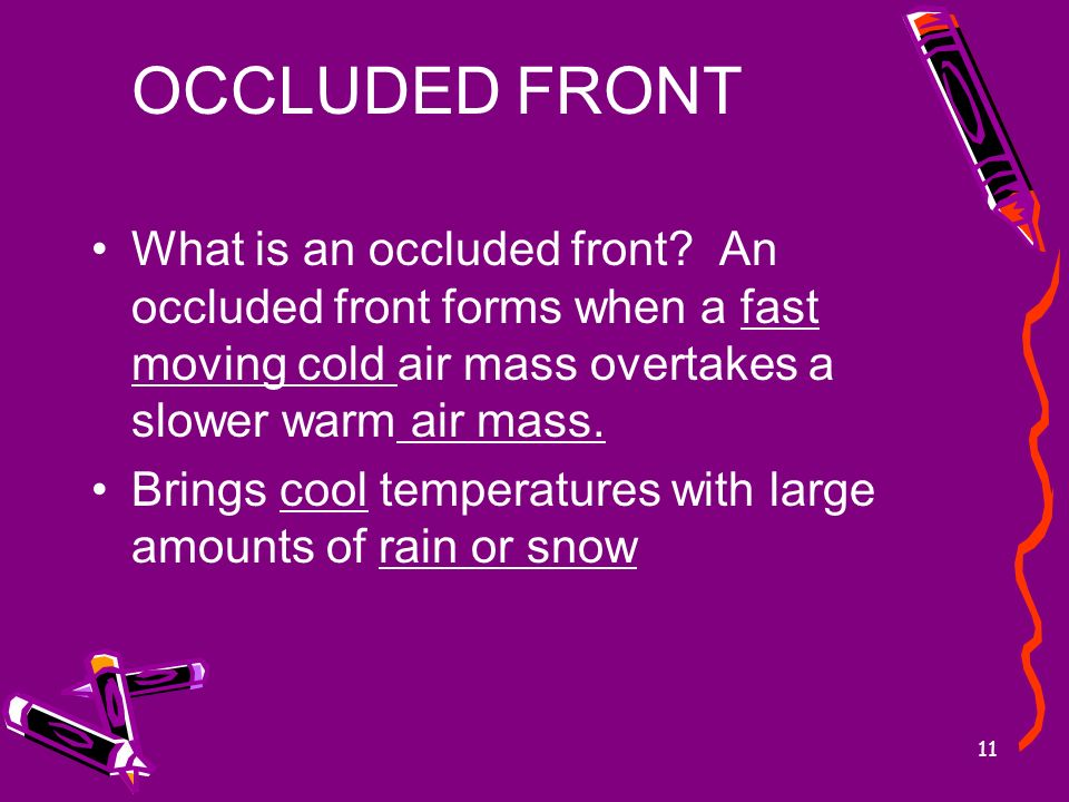 AIR MASSES AND FRONTS Chapter 16 Section ppt download