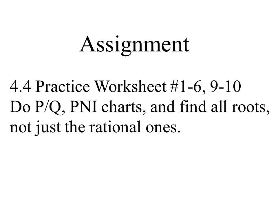 44 The Rational Root Theorem ppt video online download – Rational or Irrational Worksheet