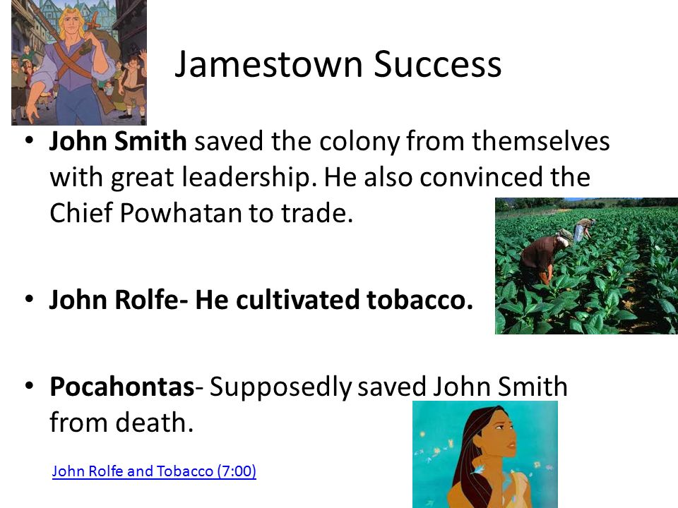 jamestown colony a success or failure Mrsfliegersspage search this site home 1 class letter & expectations plantation jamestown headright system the location of a colony is the most important factor in whether that colony will be a success or failure.