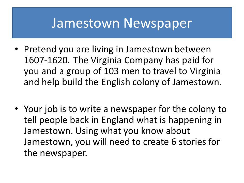 jamestown 1607 1620 Choose one of the following: a) occupations of the new world (1607-1608) b)  original settlers (1607) c) first supply (1608) d) second supply (1608.