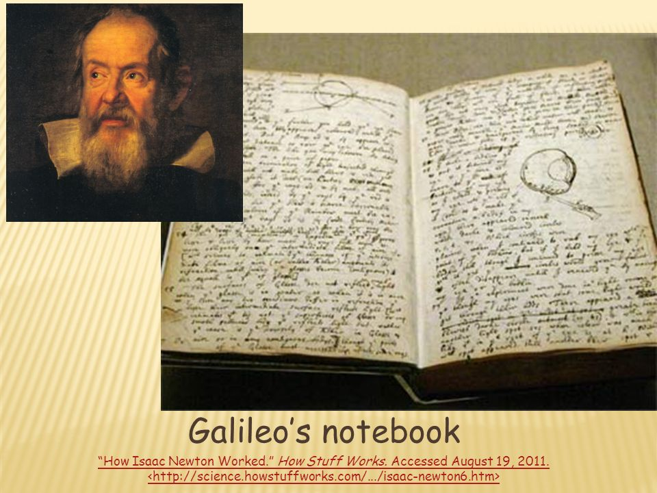 Famous Scientists Notebooks Ppt Video Online Download