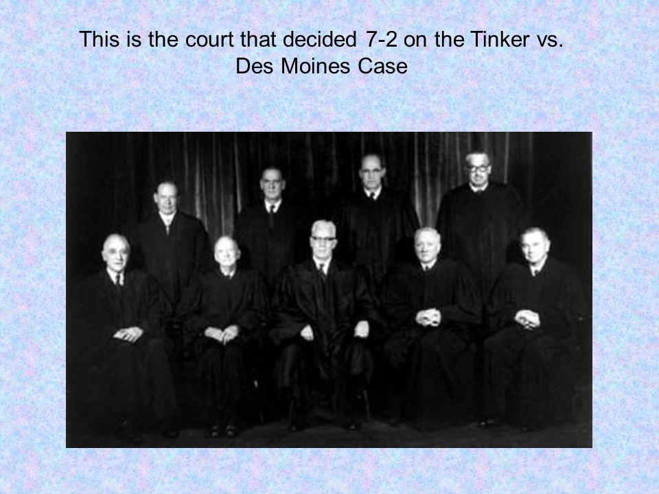 Tinker v des moines case | Essay Sample - bluemoonadv com