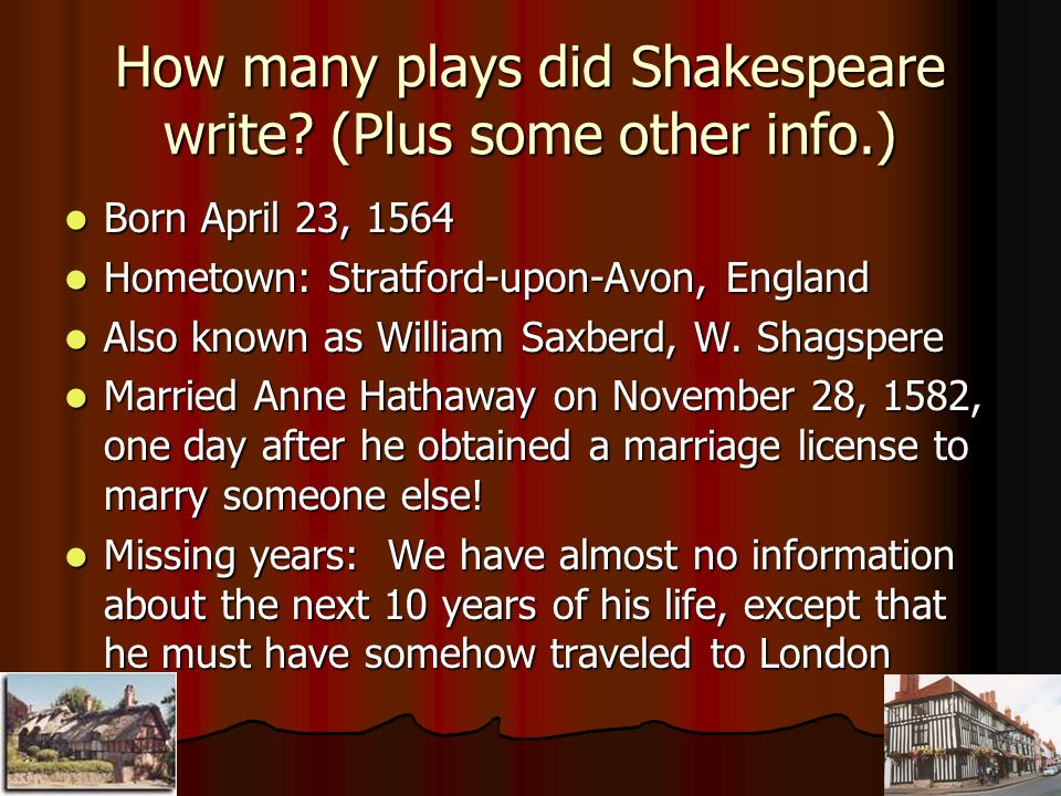 What Else Did William Shakespeare Write Other Than Plays?
