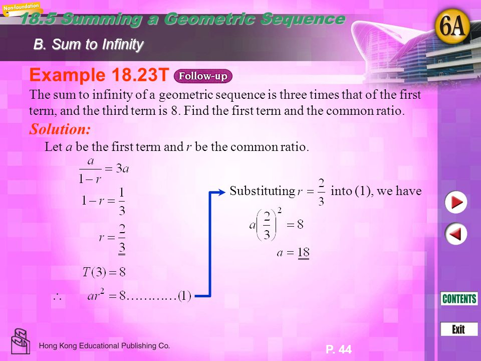 18 Arithmetic And Geometric Sequences Case Study Ppt