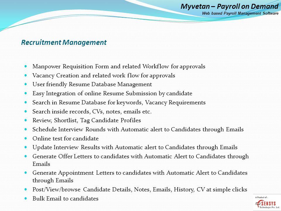 myvetan payroll on demand ppt video online download