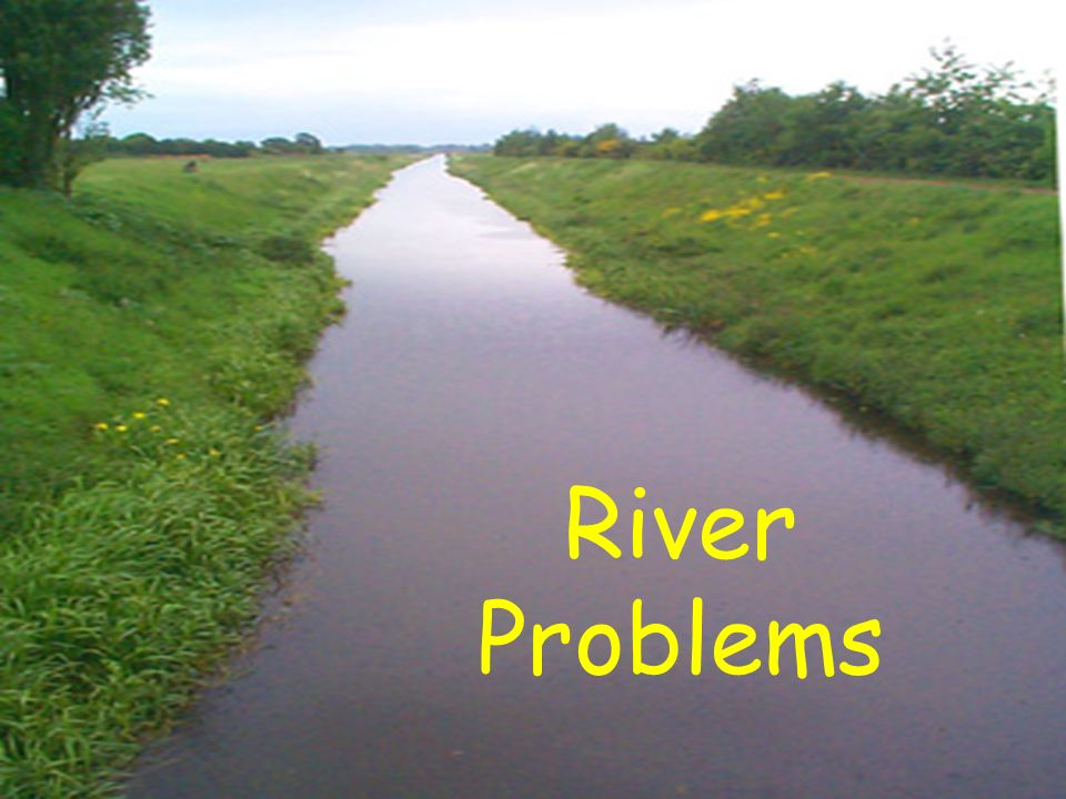 The problems of indiscipline in rivers