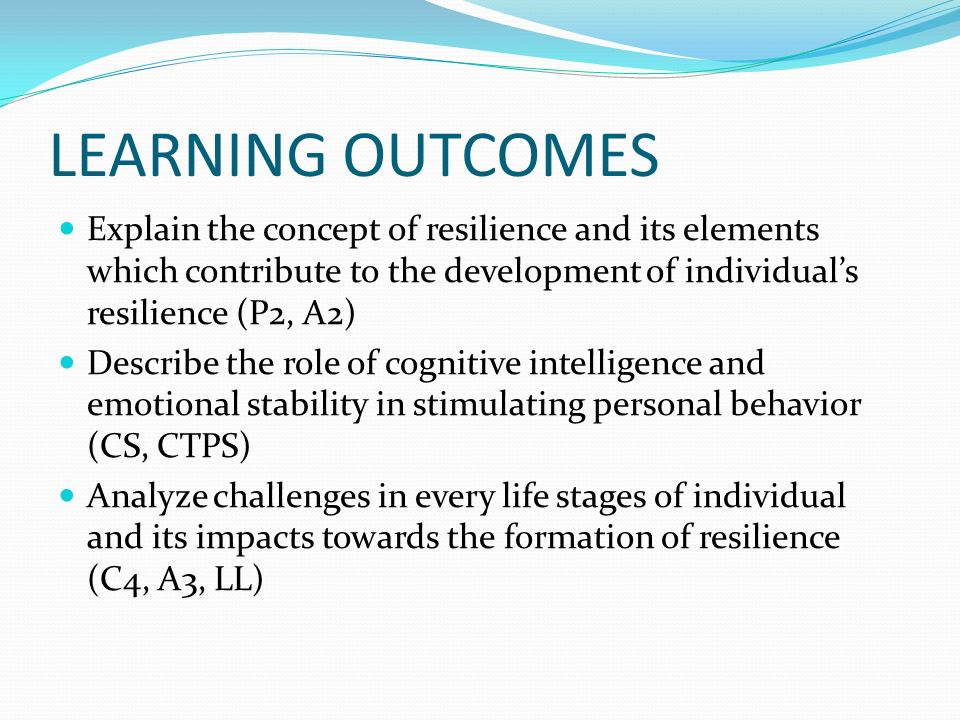 describe the concept of learning Today, learning remains an important concept in numerous areas of  to explain  how and when learning occurs, a number of different.