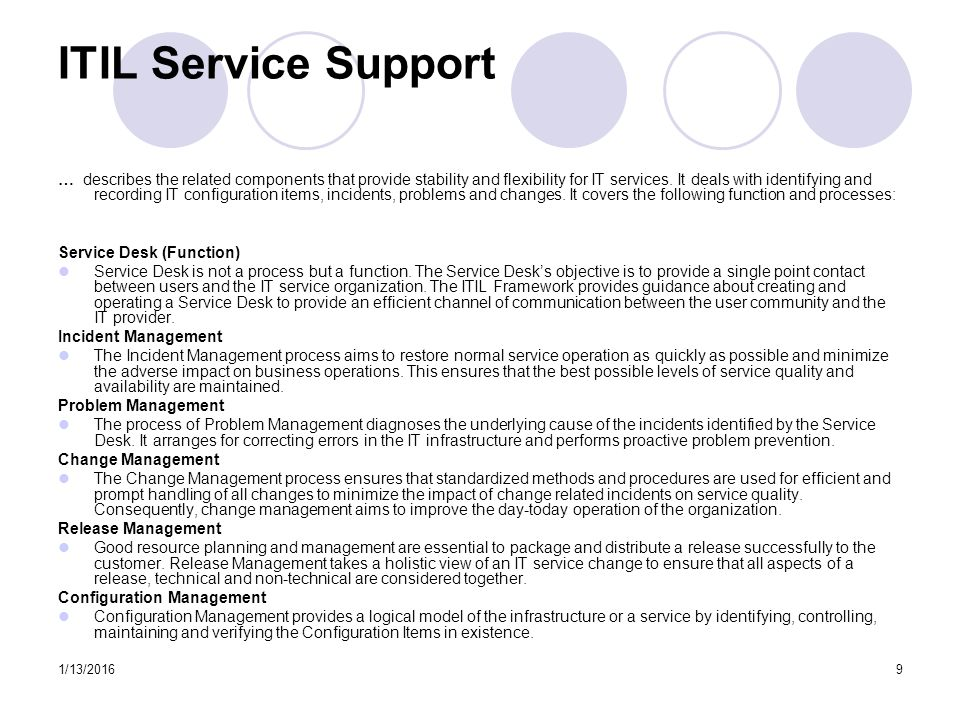 Itil Restore Service : Itil awareness uc jdcmg discussion ppt video online
