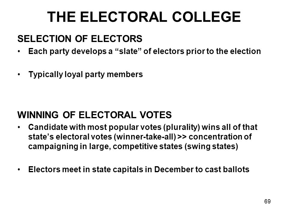 an overview of the criticizing of the electoral college system Unlike most editing & proofreading services, we edit for everything: grammar, spelling, punctuation, idea flow, sentence structure, & more get started now.