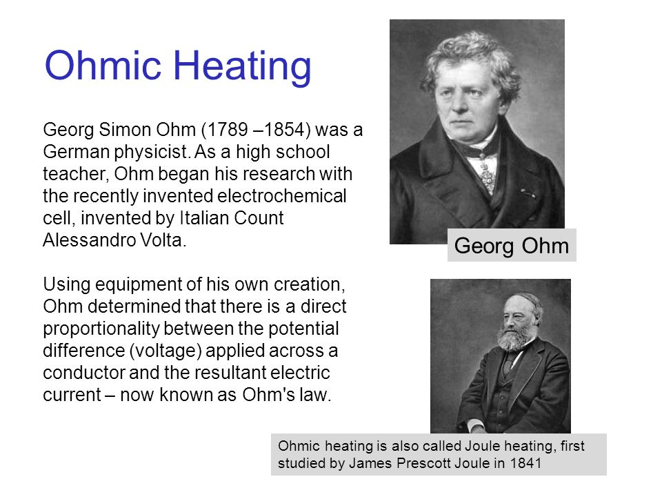 Georg ohm research paper