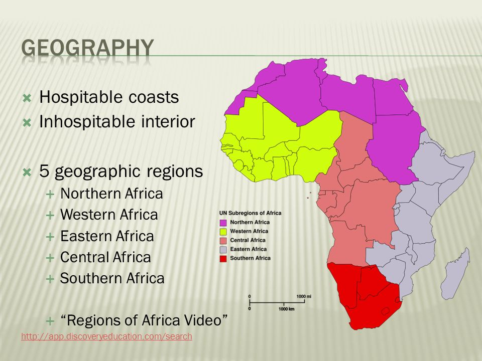 AFRICA GEOGRAPHY PEOPLES ppt video online download