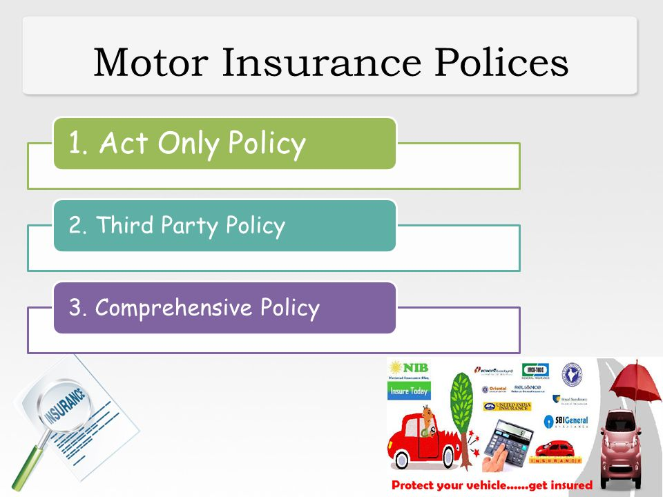 Non life insurance ppt download for Third party motor vehicle